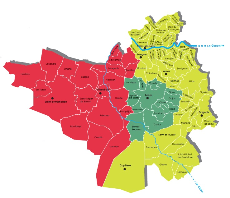 CC du Réolais en Sud Gironde